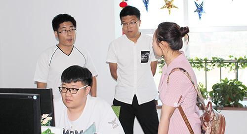 保定华中技工学校黄莎莎处长一行到创元教育考察交流